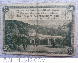 50 Pfennig 1921 - Bad Wildungen