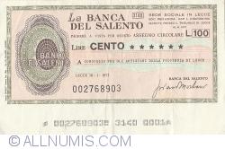 Imaginea #1 a 100 Lire 1977 (18. I.) - Lecce