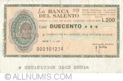 Imaginea #1 a 200 Lire 1977 (1. IV.) - Lecce