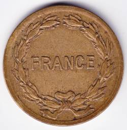 Imaginea #1 a 2 Francs 1944 Allied Occupation