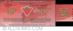 10 Cents Canadian Tire 2017
