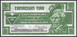 5 Cents Canadian Tire 2010
