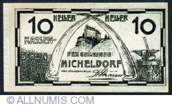 10 Heller 1920 - Micheldorf
