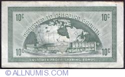 Image #2 of 10 Cents Canadian Tire 1962