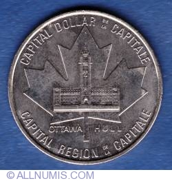 Imaginea #1 a 1 Dollar 1984 - Capital dollar