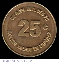 25 Cents - Canadian Forces