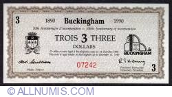 Imaginea #1 a 3 Dollars Buckingham 1990
