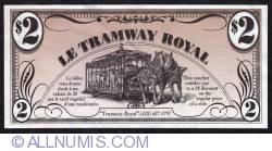 2 Dollars Tramway Royal 1999