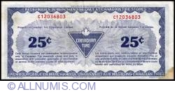 Image #2 of 25 Cents Canadian Tire 1987