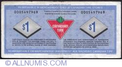 Image #2 of 1 Dollar Canadian Tire 1992