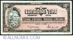 Image #1 of 10 Cents Canadian Tire 1974