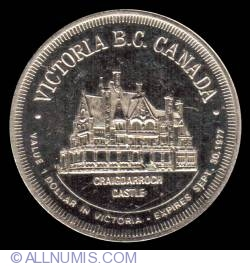 Image #2 of 1 Dollar 1977 - Victoria