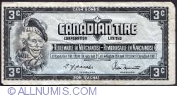 Image #1 of 3 Cents Canadian Tire 1974