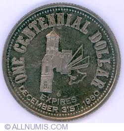 1 Dollar 1980 Trenton Centennial