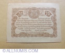 20 Heller 1920 (25.VI.)