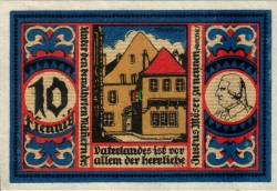 Image #1 of 10 Pfennig 1921 - Osnabrück