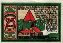 25 Pfennig 1921 - Osnabrück