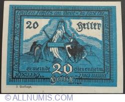 20 Heller 1920 - Siezenheim (A III-a emisiune - 3. Auflage)