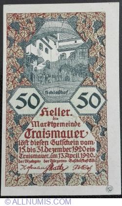 Image #1 of 50 Heller 1920 - Traismauer