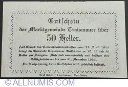 Image #2 of 50 Heller 1920 - Traismauer