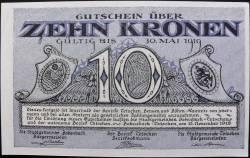 Image #1 of 10 Kronen 1918 - Bodenbach-Tetschen