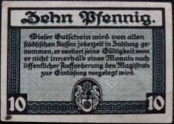 Image #2 of 10 Pfennig 1920 - Erfurt