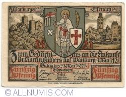 Image #1 of 50 Pfennig 1921 - Eisenach