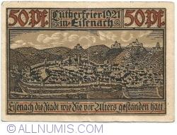 Image #2 of 50 Pfennig 1921 - Eisenach