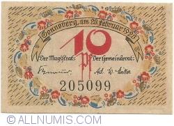 Image #2 of 10 Pfennig 1920 - Sonneberg