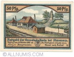 Image #2 of 50 Pfennig 1921 - Roda bei Ilmenau