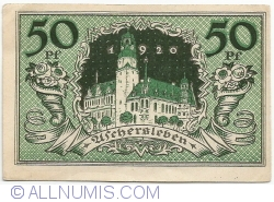 Image #2 of 50 Pfennige 1921 - Aschersleben