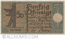 Imaginea #1 a 50 Pfennig 1921 (7) - Berlin