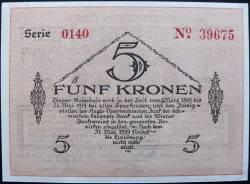 Image #2 of 5 Kronen 1919 - Bodenbach-Tetschen