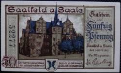 Imaginea #1 a 50 Pfennig 1921 - Saalfeld