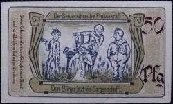 Imaginea #2 a 50 Pfennig 1921 - Saalfeld