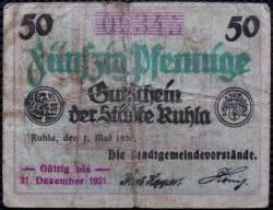 Image #1 of 50 Pfennig 1920 - Ruhla