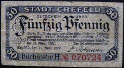 Image #1 of 50 Pfennig 1920- Crefeld