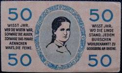 Image #1 of 50 Pfennig 1920 - Bad Godesberg