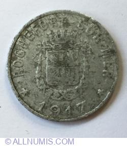 5 Centimes 1917