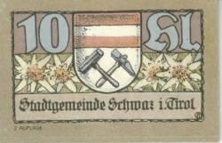 Imaginea #1 a 10 Heller 1921 (2. Auflage) - Schwaz