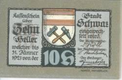 10 Heller 1921 (2. Auflage) - Schwaz