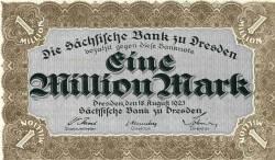 Image #1 of 1 000 000 (Eine Million) Mark 1923 (18. VIII.)