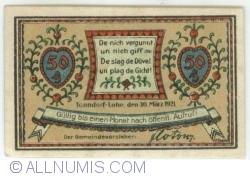 Image #2 of 50 Pfennig 1921 - Tonndorf-Lohe