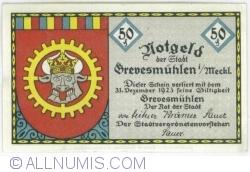 50 Pfennig ND - Grevesmühlen