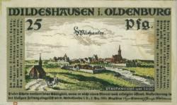 Imaginea #1 a 25 Pfennig 1921 - Wildeshausen