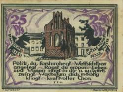 25 Pfennig 1921 - Stettin