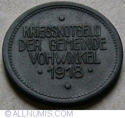 Image #2 of 50 Pfennig 1918 - Vohwinkel