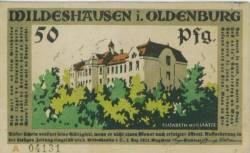 Imaginea #1 a 50 Pfennig 1921 - Wildeshausen