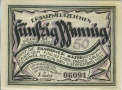 50 Pfennig 1921 - Stettin