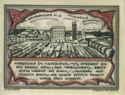 75 Pfennig 1921 - Stettin